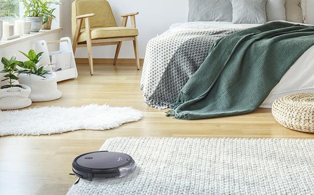 Un appareil qui aspire aussi sur la moquette et les tapis