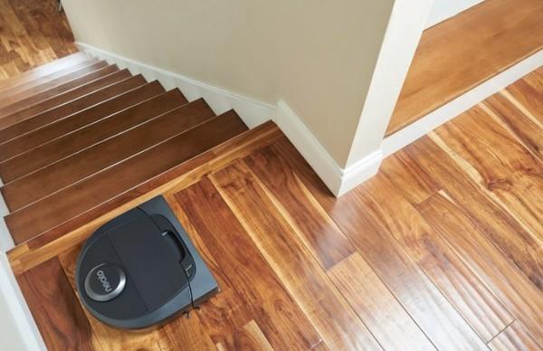 il évite les escalier et de tomber
